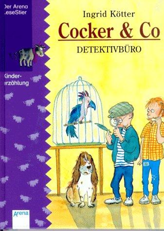 9783401043432: Cocker & Co, Detektivbüro