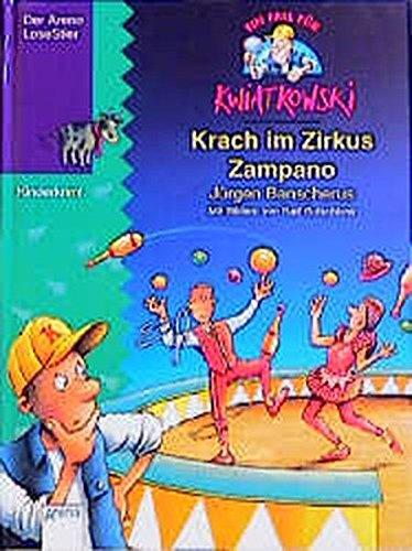 9783401047638: Ein Fall für Kwiatkowski, Krach im Zirkus Zampano