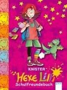 9783401056333: Hexe Lilli Schulfreundebuch (pink)