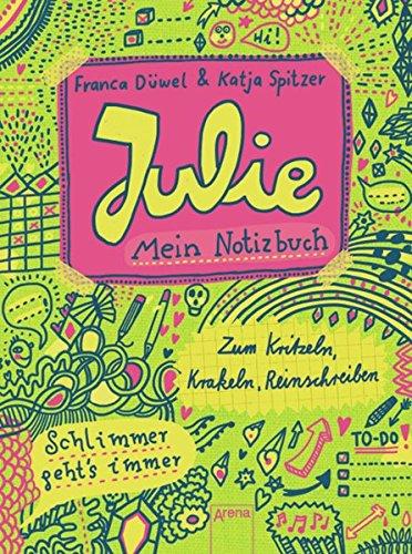 9783401063294: Julie. Mein Notizbuch