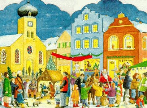 9783401076461: Meine kleine Weihnachtsstadt. Zum Aufstellen und Beleuchten