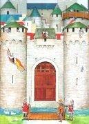 9783401076584: Mein Spiel-Panorama. Die Ritterburg.