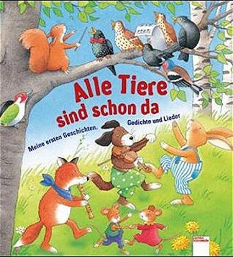 9783401080291: Alle Tiere sind schon da.