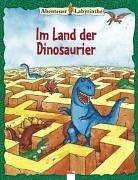 9783401082004: Abenteuer- Labyrinthe. Im Land der Dinosaurier. ( Ab 6 J.).