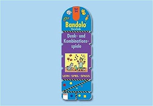 9783401083605: Bandolo Set 24. Denk- und Kombinationsspiele: Vorschule. Lern - Spiel - Spass. Mit Lösungsschnur