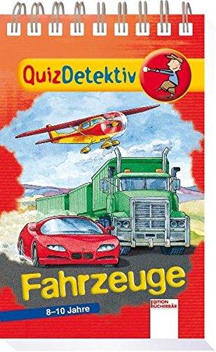 9783401086347: QuizDetektiv. Fahrzeuge