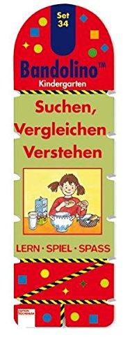 9783401086804: Bandolino Set 34. Suchen, Vergleichen, Verstehen.: Lern Spiel Spass. Kindergarten