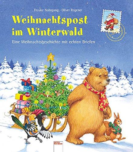 9783401087962: Weihnachtspost im Winterwald
