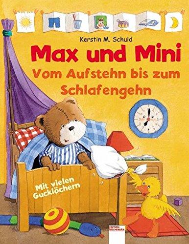9783401088594: Max und Mini. Vom Aufstehn bis zum Schlafengehn