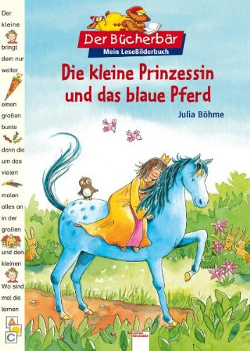 9783401089164: Die kleine Prinzessin und das blaue Pferd