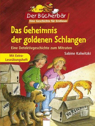 9783401089270: Das Geheimnis der goldenen Schlangen