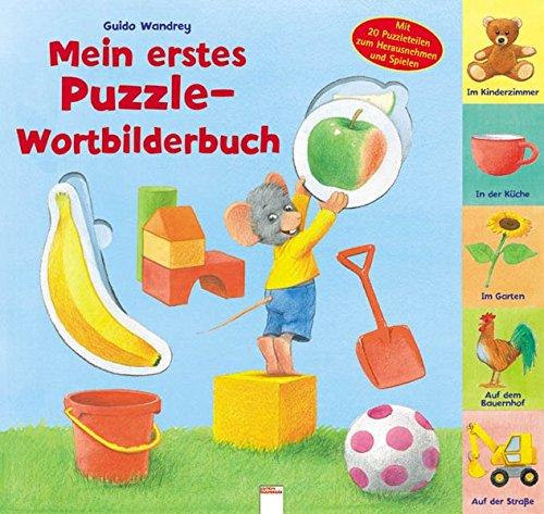 9783401089966: Mein erstes Puzzle-Wortbilderbuch