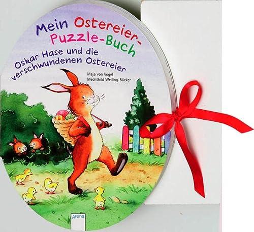 9783401091198: Mein Ostereier-Puzzle-Buch - Oskar Hase und die verschwundenen Ostereier