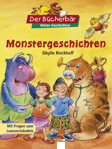 9783401091549: Monstergeschichten