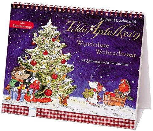 9783401092737: Tilda Apfelkern - Wunderbare Weihnachtszeit 24 Adventskalender-Geschichten Ill. v. Schmachtl, Andreas H Deutsch , durchg. farb. Ill. -