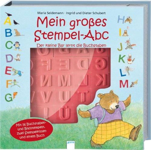 9783401092904: Mein Vorschulwissen. Mein großes Stempel-Abc - Der kleine Bär lernt die Buchstaben