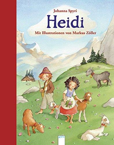 9783401094946: Heidi: Arena Bilderbuch-Klassiker