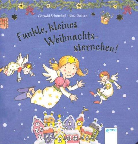 9783401096353: Funkle, kleines Weihnachtssternchen!