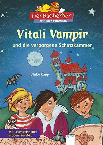 9783401097787: Vitali Vampir und die verborgene Schatzkammer: Mit Leserätseln und großem Suchbild
