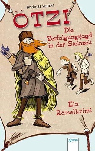 9783401098135: Ötzi - Die Verfolgungsjagd in der Steinzeit: Ein Rätselkrimi