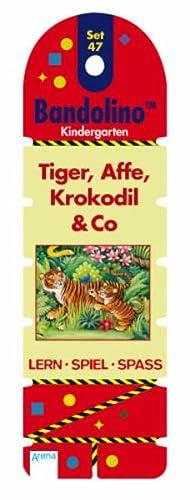 9783401098357: Bandolino Set 47: Tiger, Affe, Krokodil & Co