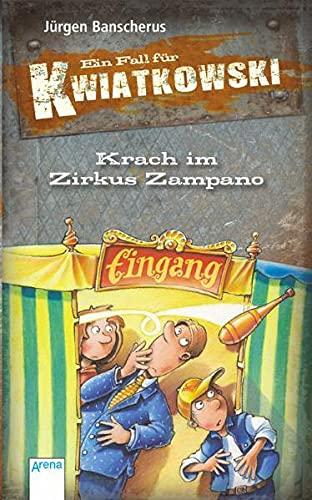9783401099057: Ein Fall für Kwiatkowski. Krach im Zirkus Zampano