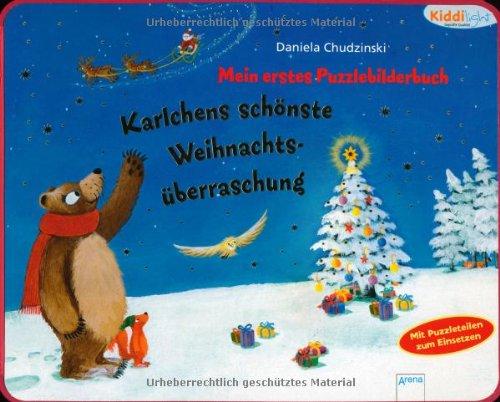 9783401099316: Mein erstes Puzzlebilderbuch - Karlchens schönste Weihnachtsüberraschung