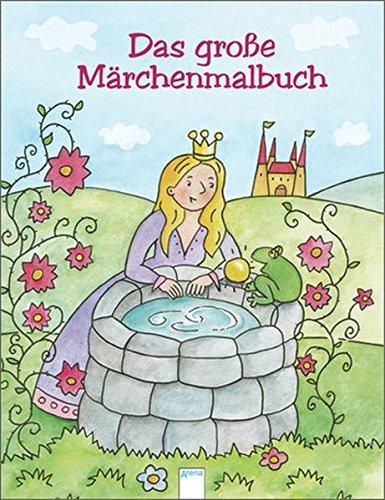 9783401099804: Das große Märchenmalbuch