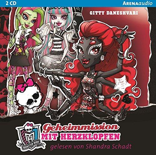 9783401268897: Monster High 04. Geheimmission mit Herzklopfen