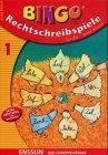 9783401410968: BINGO logo, Rechtschreibspiele, neue Rechtschreibung, Neuausgabe, Bd.1, Für die erste Klasse