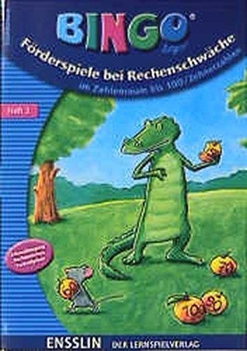 9783401411552: Förderspiele bei Rechenschwäche. Heft 2.