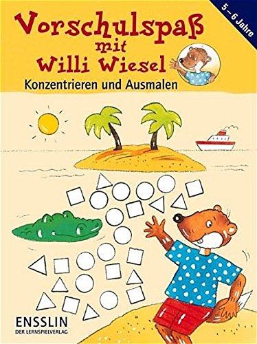 9783401412481: Vorschulspaß mit Willi Wiesel