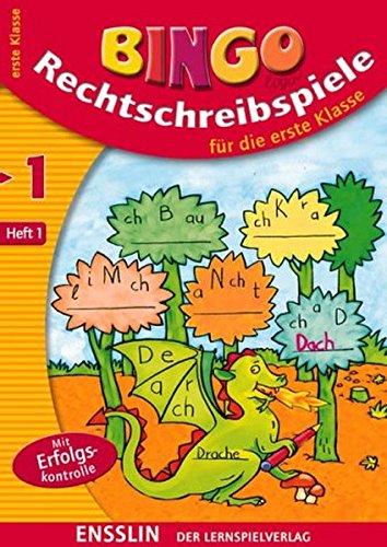 9783401412672: Rechtschreibspiele 1.