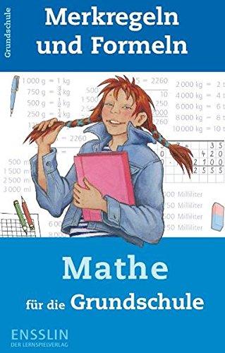 9783401412764: Merkregeln und Formeln Mathe für die Grundschule