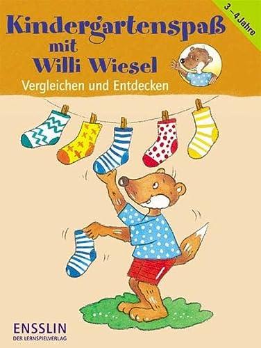 9783401413433: Kindergartenspaß mit Willi Wiesel. Vergleichen und Entdecken