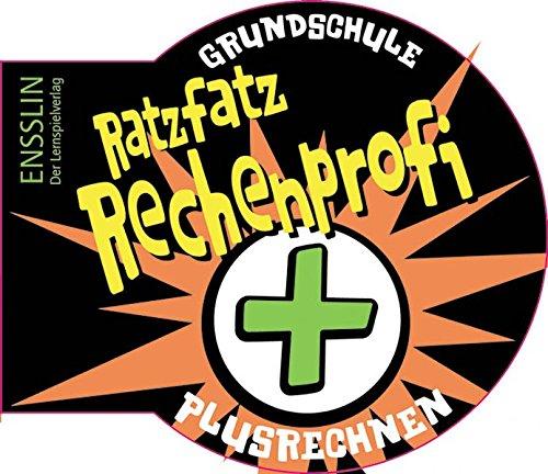 9783401413938: Ratzfatz-Rechenprofi. Plusrechnen: Grundschule