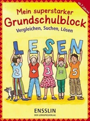 9783401414768: Mein superstarker Grundschulblock - Vergleichen, Suchen, L�sen