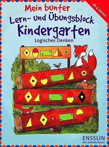 Mein bunter Lern- und Übungsblock Kindergarten -