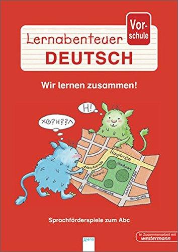 9783401414942: Lernabenteuer Vorschule - Wir lernen zusammen: Sprachförderspiele zum Abc