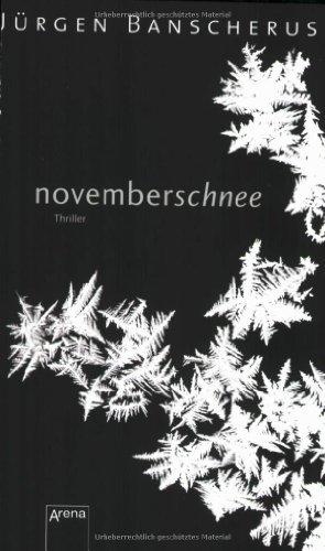 9783401501611: Novemberschnee: Schwarze Reihe