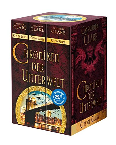 9783401508740: Chroniken der Unterwelt 01-03: City of Bones. City of Ashes. City of Glass