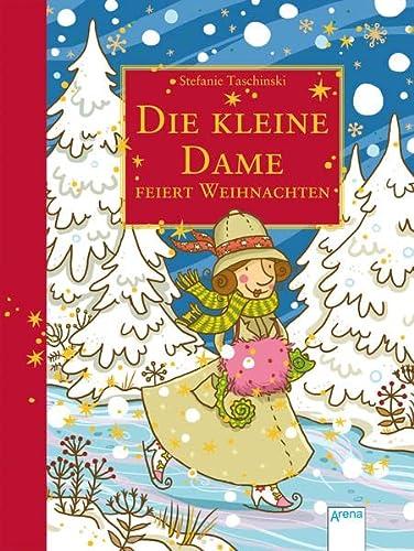 9783401603001: Die kleine Dame feiert Weihnachten: Limitierte Geschenkausgabe mit Stickerbogen