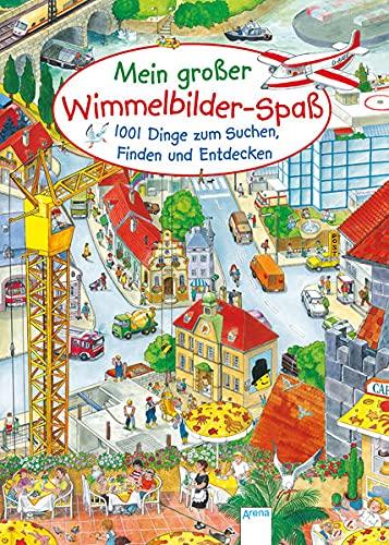 9783401703220: Mein gro�er Wimmelbilderspa�. 1001 Dinge zum Suchen, Finden und Entdecken