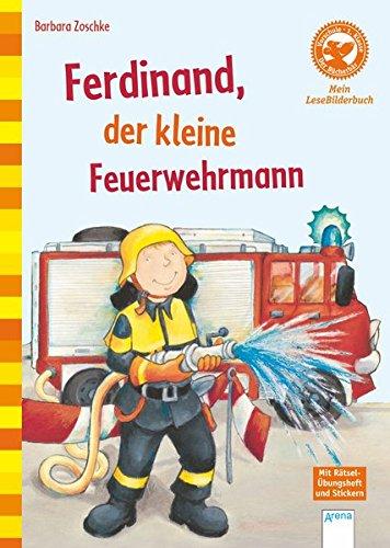 9783401703671: Ferdinand, der kleine Feuerwehrmann: Der Bücherbär: Mein Lese-Bilderbuch