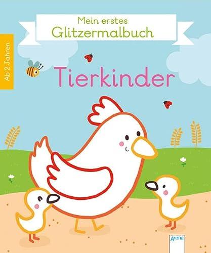 9783401709031: Mein erstes Glitzermalbuch.Tierkinder