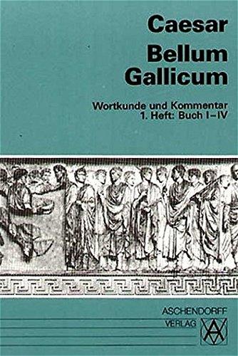9783402020197: Bellum Gallicum. Wortkunde und Kommentar. Heft 1, Buch I - IV. (Lernmaterialien)