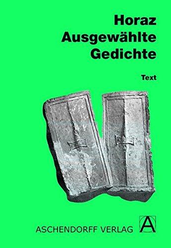 9783402020593: Ausgewählte Gedichte. Text