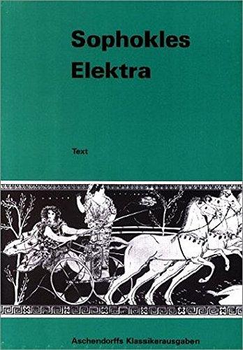 9783402022382: Elektra: Text. (Griechisch)