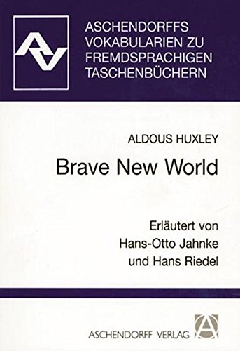 9783402028360: Brave New World: Vokabularien (Vocabulary Guide in German)