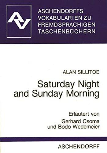9783402028599: Saturday Night and Sunday Morning. Vokabularien. (Lernmaterialien)